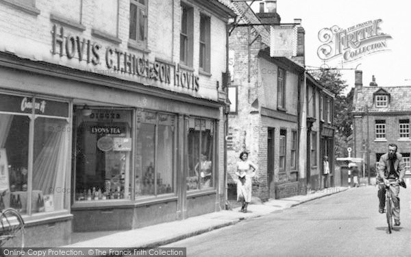 Photo of Aylsham, Grocer's In Red Lion Street c.1950