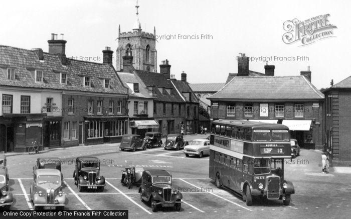 Photo of Aylsham, Market Place 1952