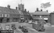 Aylsham, Market Place 1952