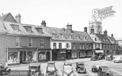 Aylsham, Market Place c.1952
