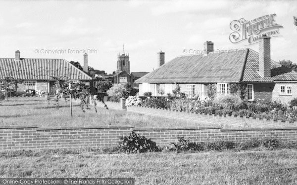 Photo of Aylsham, Mill Road And St Michael's Church c.1960