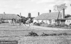 Aylsham, Mill Road And St Michael's Church c.1960