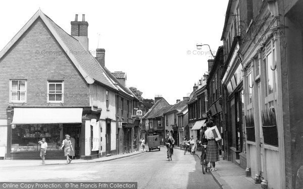 Aylsham, Red Lion Street c1955
