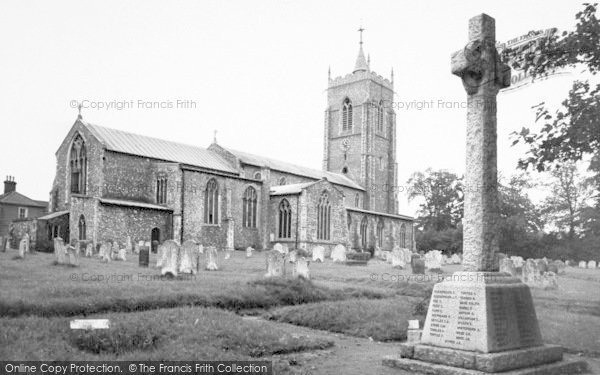 Photo of Aylsham, St Michael's Church c.1965