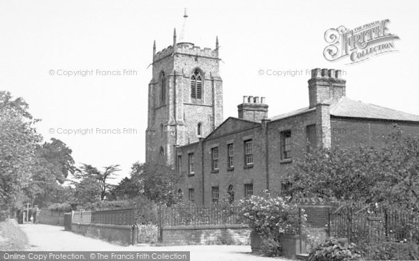 Photo of Aylsham, St Michael's School And St Michael's Church c.1950