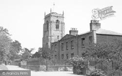 Aylsham, St Michael's School And St Michael's Church c.1950