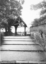 Aylsham, The Lychgate c.1960