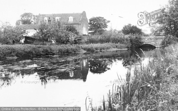 Photo of Aylsham, The River c.1965