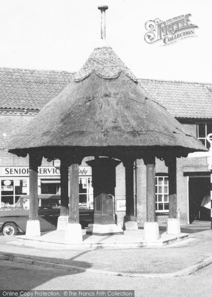 Photo of Aylsham, Village Pump c.1955