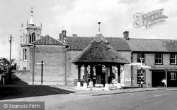 Aylsham, Village Pump c.1955