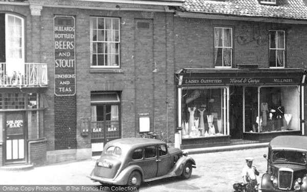 Photo of Aylsham, Ward & George Ladies Outfitters c.1952