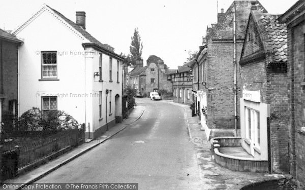 Photo of Aylsham, White Hart Street c.1965