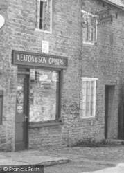 Aynho, Eaton's Grocery Shop, Hollow Road c.1955