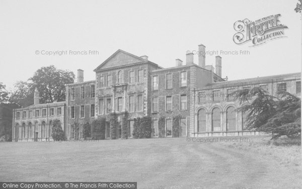 Photo of Aynho, Park House, South Front c.1955