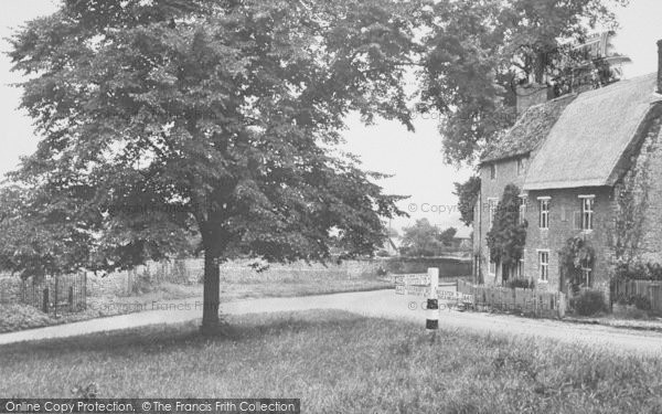 Photo of Aynho, The Village And Stocks c.1955