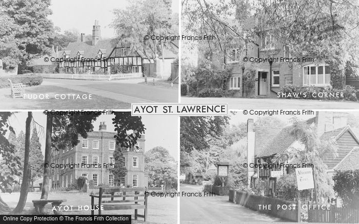 Photo of Ayot St Lawrence, Composite c.1955