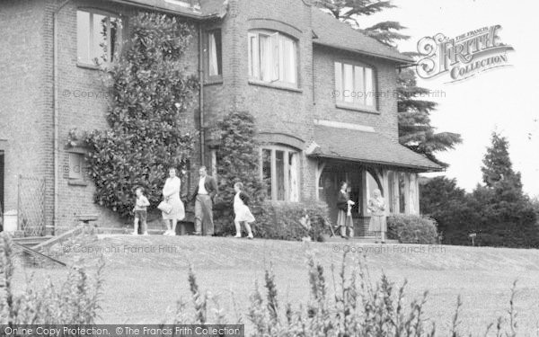 Photo of Ayot St Lawrence, Family At Shaws Corner c.1955