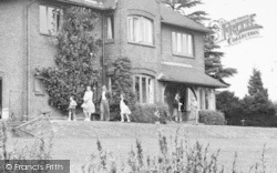 Ayot St Lawrence, Family At Shaws Corner c.1955