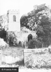 Ayot St Lawrence, Old Church c.1939