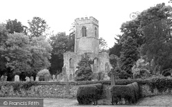 Ayot St Lawrence, The Old Church c.1955