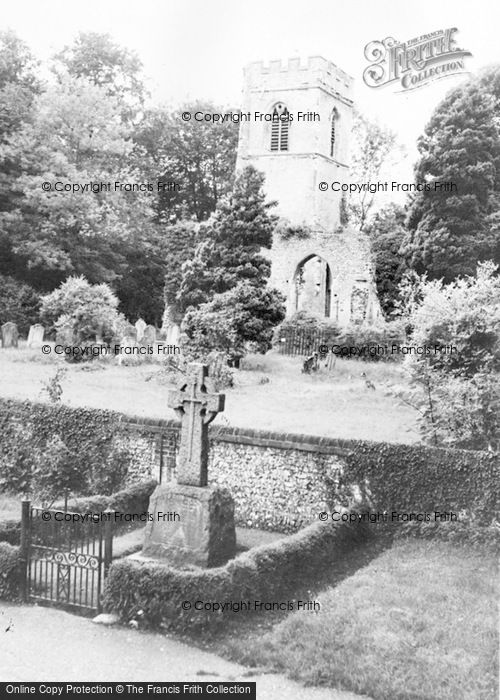 Photo of Ayot St Lawrence, The Old Church c.1965