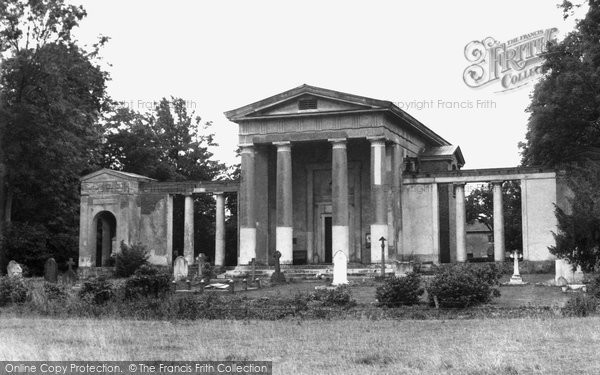 Photo of Ayot St Lawrence, The Palladian Church c.1955
