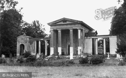 Ayot St Lawrence, The Palladian Church c.1955