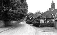 Ayot St Lawrence, the Village c1955