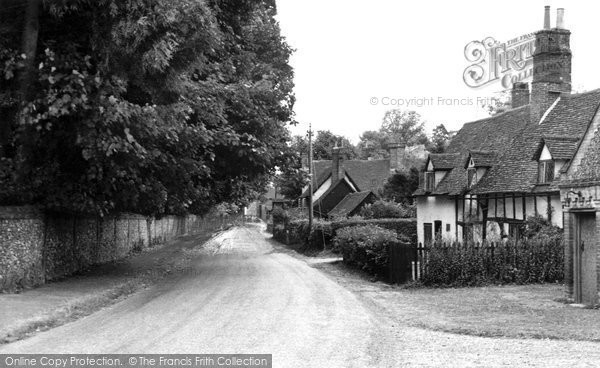 Photo of Ayot St Lawrence, the Village c1955