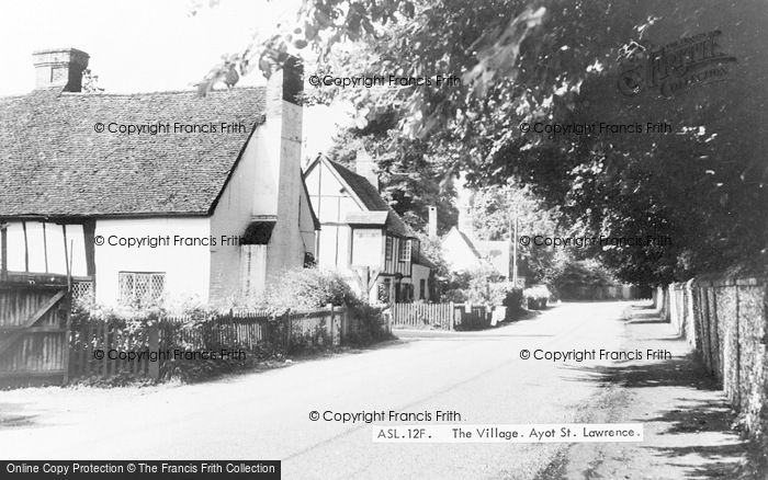Photo of Ayot St Lawrence, The Village c.1955