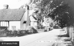 Ayot St Lawrence, The Village c.1955