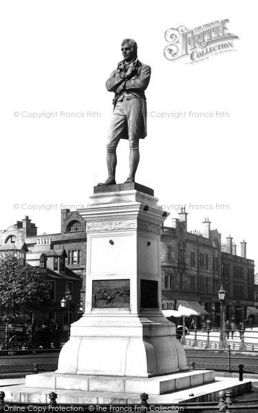 Photo of Ayr, Burns's Statue 1900
