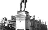 Ayr, Burns's Statue 1900