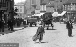 Delivery Boy In High Street 1900, Ayr