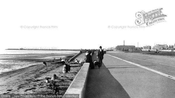Photo of Ayr, Esplanade 1900