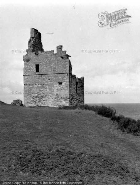 Photo of Ayr, Greenan Castle 1958