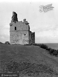 Ayr, Greenan Castle 1958