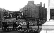 Ayr, Hoardings At Alloway Street And Dalblair Road Junction 1897