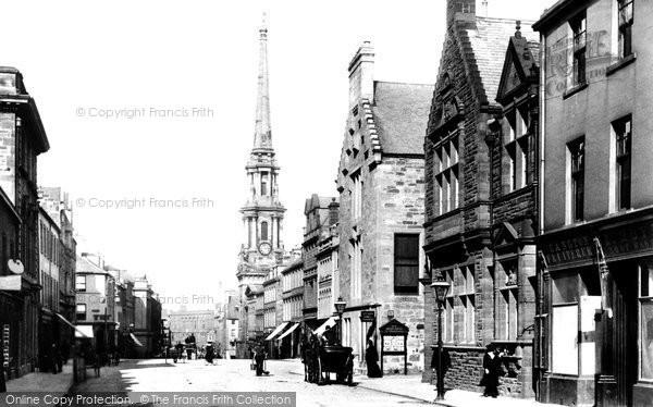Photo of Ayr, Sandgate Street 1900