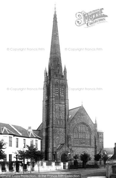 Photo of Ayr, St Andrew's Church 1900
