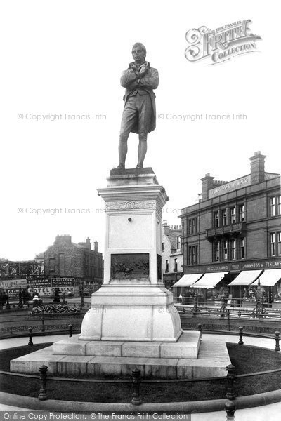 Photo of Ayr, Statue Of Robert Burns (1759 1796) 1897