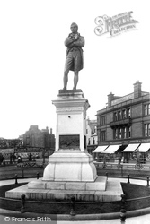 Ayr, Statue Of Robert Burns (1759-1796) 1897