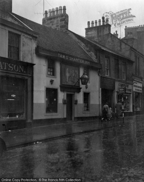 Photo of Ayr, Tam O'shanter Inn 1958