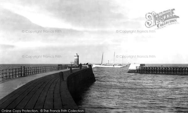 Photo of Ayr, The Pier 1900