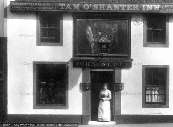Photo of Ayr, The Tam O' Shanter Inn 1900