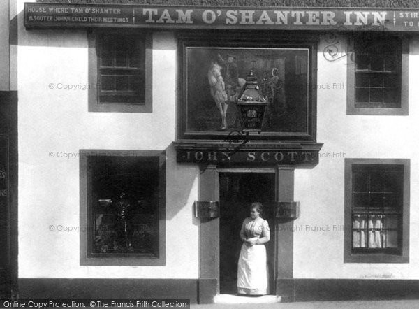 Ayr, The Tam O' Shanter Inn 1900