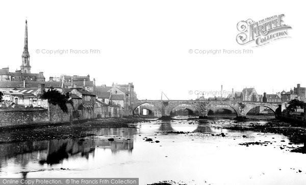 Photo of Ayr, Twa Brigs 1900