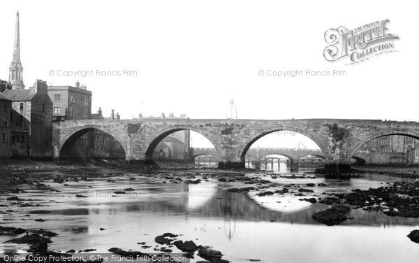 Photo of Ayr, Twa Brigs 1900