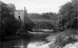Aysgarth, Bridge And Mill 1893