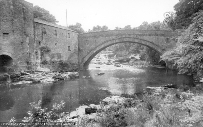 Photo of Aysgarth, Bridge And Upper Falls c.1960